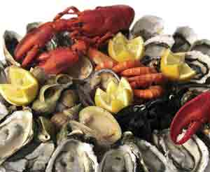 An estimated 2.3% of Americans are allergic to seafood.