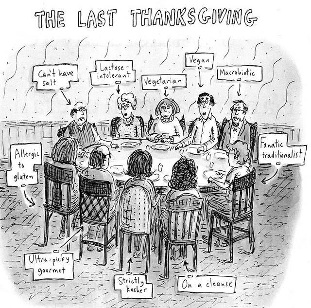 Thanksgiving dinner picture