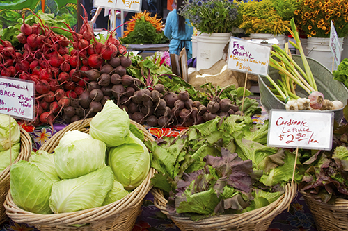 eating locally produced food is one aspect of the climatarian diet