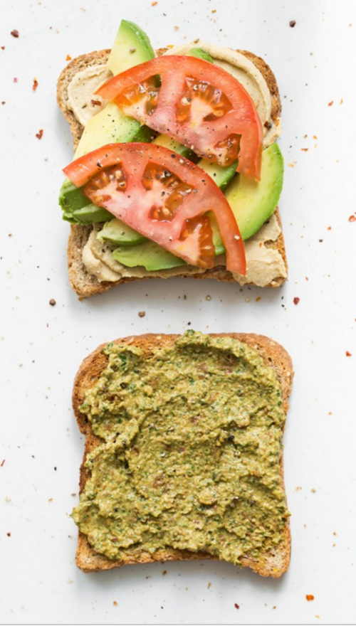 Ultimate 4 Layer Vegan Sandwich From Oh She Glows