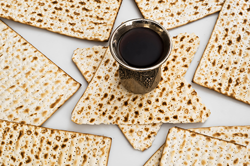 Matza bread for passover celebration - how to Manage a Kosher event