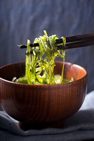 Chuka salad (kelp noodles)