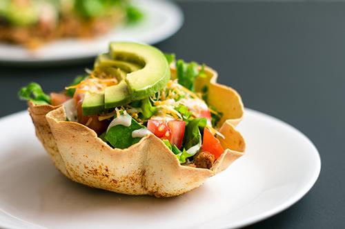 Salad Saga: Taco Salad shell