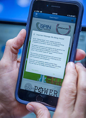 Allergy Aware Statement Event App Apple