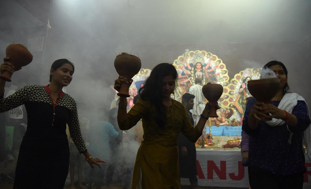 India- Navratri festival celebration