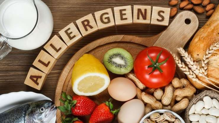 food allergies can include eggs, peppers, bread, more than 170 foods
