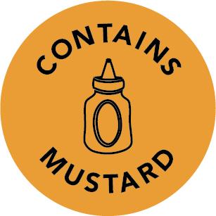 Contains Allergen Labels