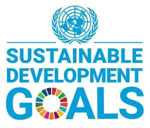 UN-Sustainable Development Goals with Emblem End Hunger