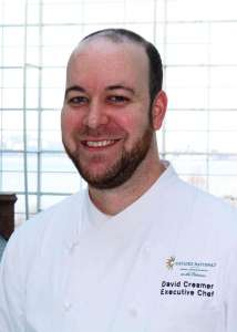 Chef David Creamer vegetarian/vegan options