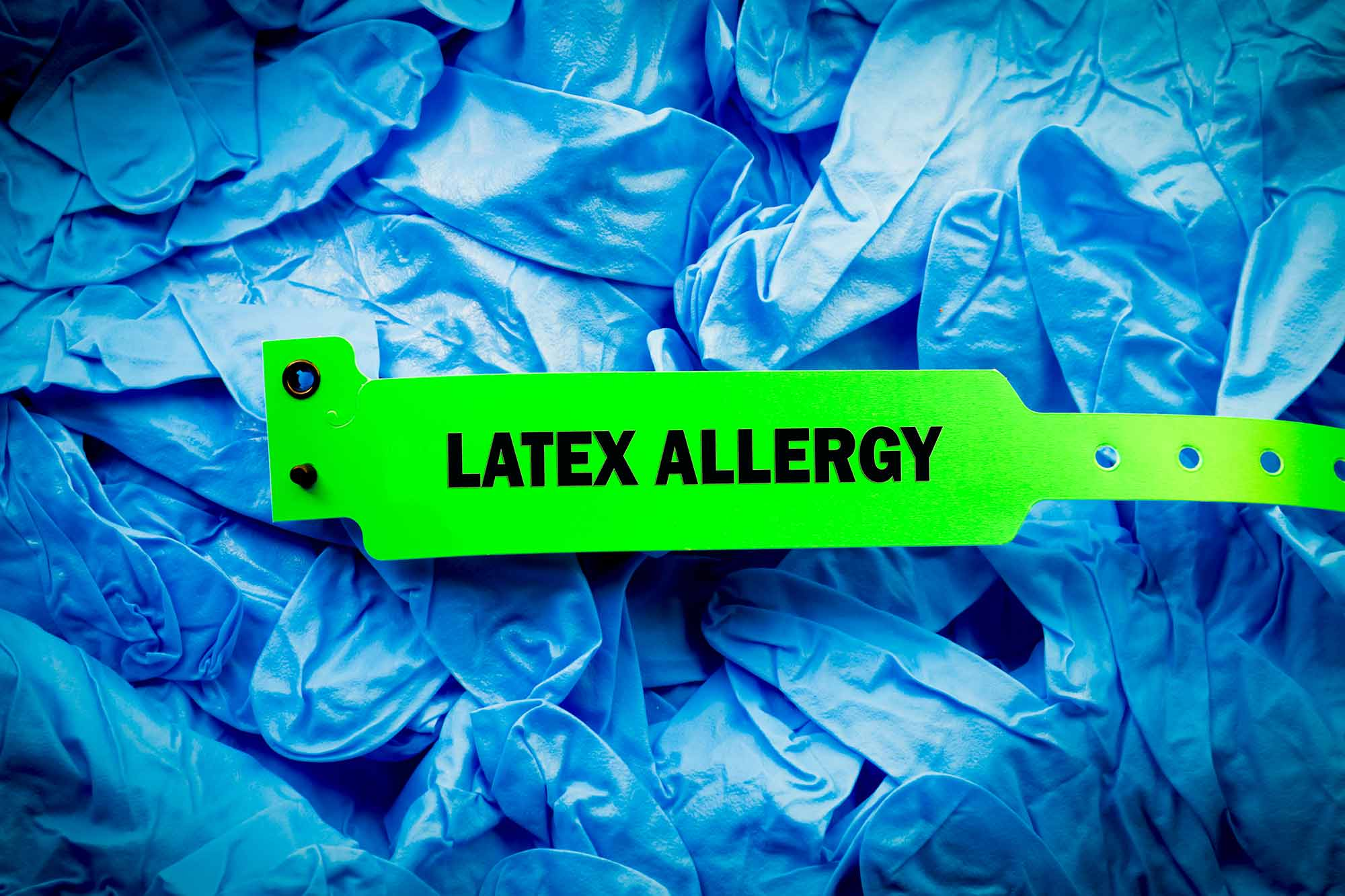 latex allergy hospital band latex allergies
