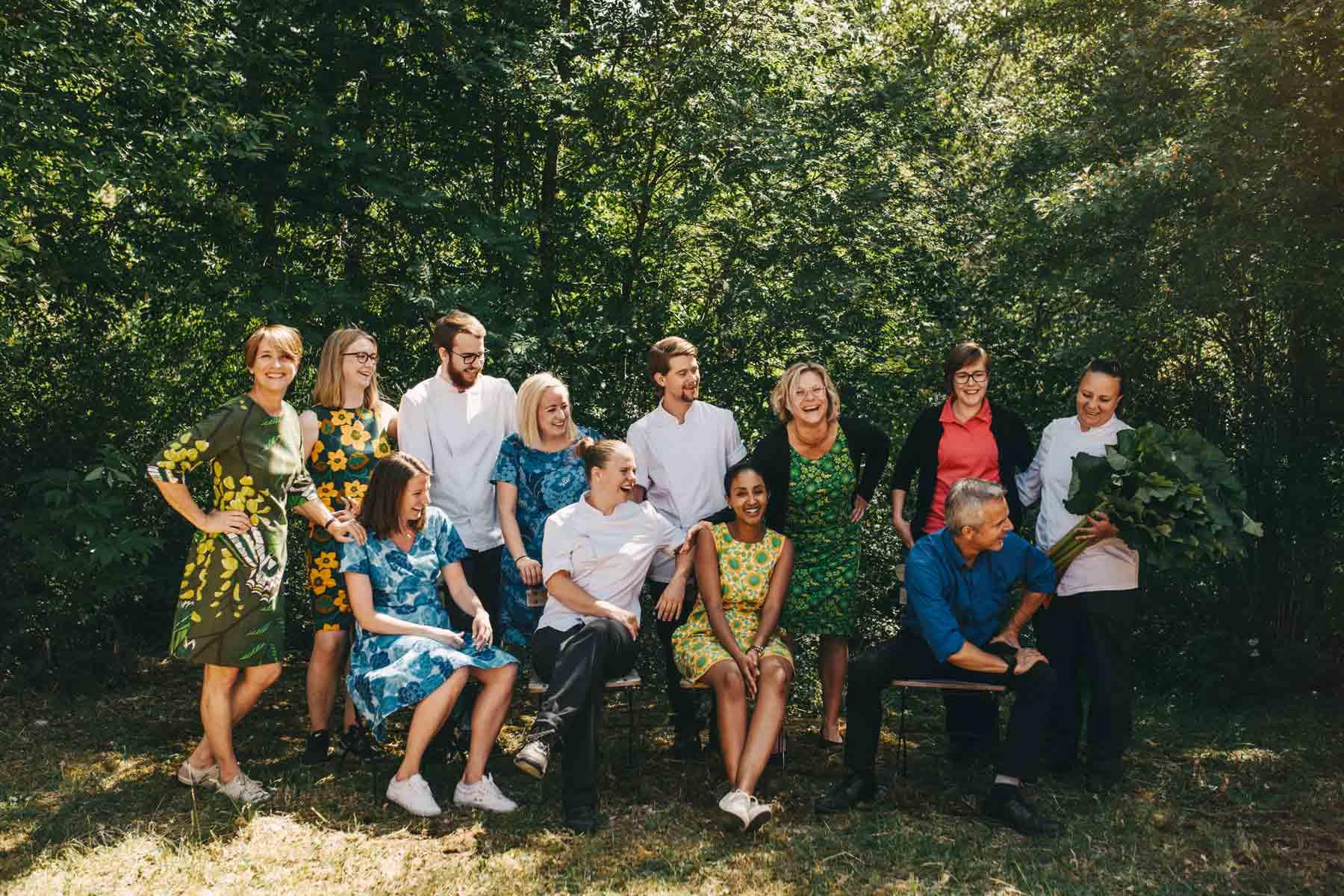 Sigtuna Summer Uniforms Sigtunahöjden staff