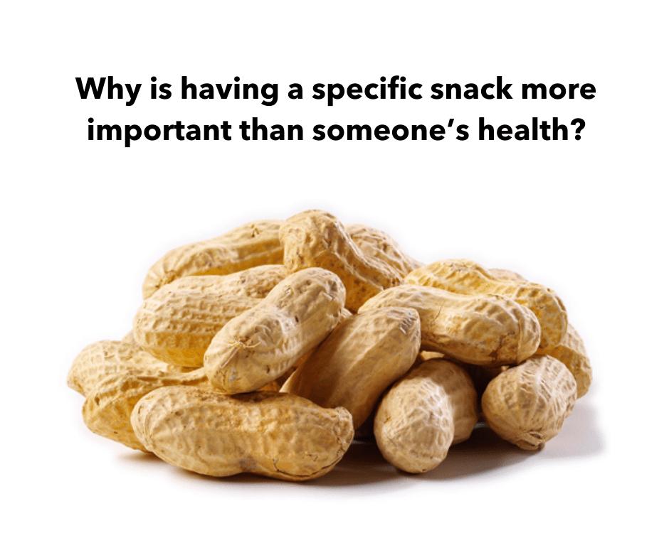 airline peanut allergy