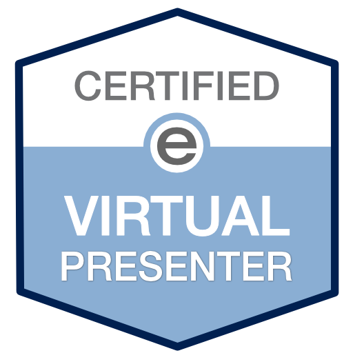 certified virtual presenter logo